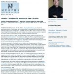 Murphy Orthodontics, orthodontic treatment, Invisalign, Phoenix Orthodontist, Dr. Chris Murphy